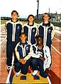 Marquis and his 4x100 teammates.jpg
