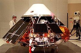 Mars Polar Lander undergoes testing