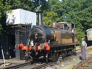 Locomotives of the Southern Railway -  LBSCR A1 class Martello
