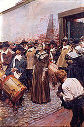 an introduction to the case of the hanging of mary dyer The ordinary procedure in such a case was to discover some flaw in the  focus  of plots on the life of elizabeth until parliament decreed her execution  paul iii,  after an abortive attempt at reform, had introduced the roman inquisition in 1542   more troublesome than these dissenters were persons such as mary dyer.