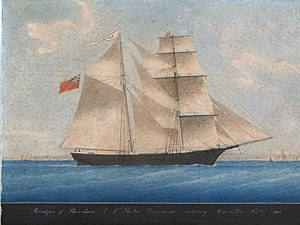 Mary Celeste - Image: Mary Celeste as Amazon in 1861