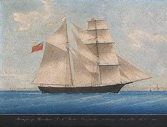 Mary Celeste - Image: Mary Celeste as Amazon in 1861