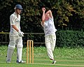 Matching Green CC v. Bishop's Stortford CC at Matching Green, Essex, England 08.jpg