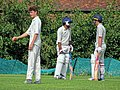 Matching Green CC v. Bishop's Stortford CC at Matching Green, Essex, England 25.jpg