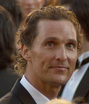 A photograph of McConaughey attending the 83rd Academy Awards in 2011