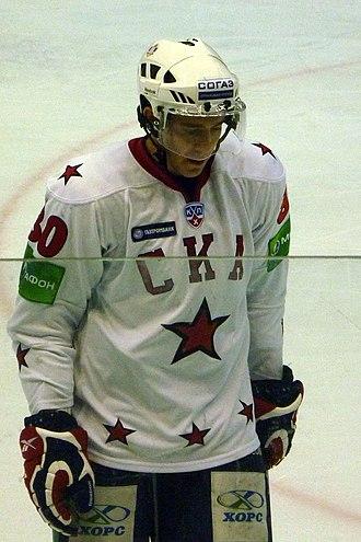 Mattias Weinhandl - Weinhandl with SKA Saint Petersburg in 2010