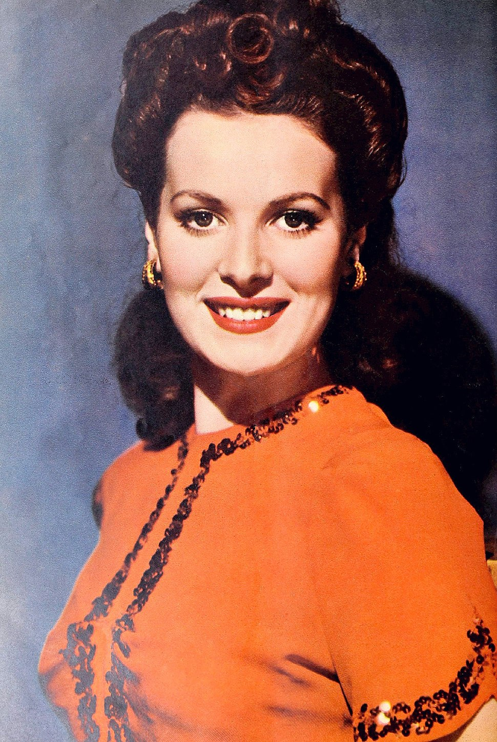 Maureen O%27Hara in April 1942