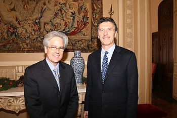 Mauricio Macri Arturo Valenzuela