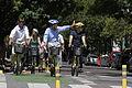 Mauricio Macri anunció 100 km de vías exclusivas para bicicletas (8425290422).jpg