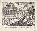 Mausoleum van Halicarnassus Septem orbis admiranda (serietitel) De zeven wereldwonderen (serietitel), RP-P-OB-38.217.jpg