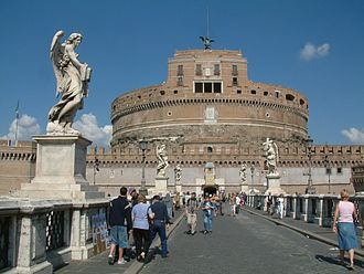 Hadrian - Castel Sant'Angelo, the ancient Hadrian Mausoleum