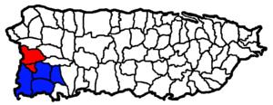 Mayagüez metropolitan area - Image: Mayaguez San German Cabo Rojo CSA