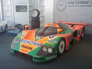 Johnny Herbert - Herbert was among the drivers who drove this Mazda 787B to victory at the 1991 24 Hours of Le Mans.