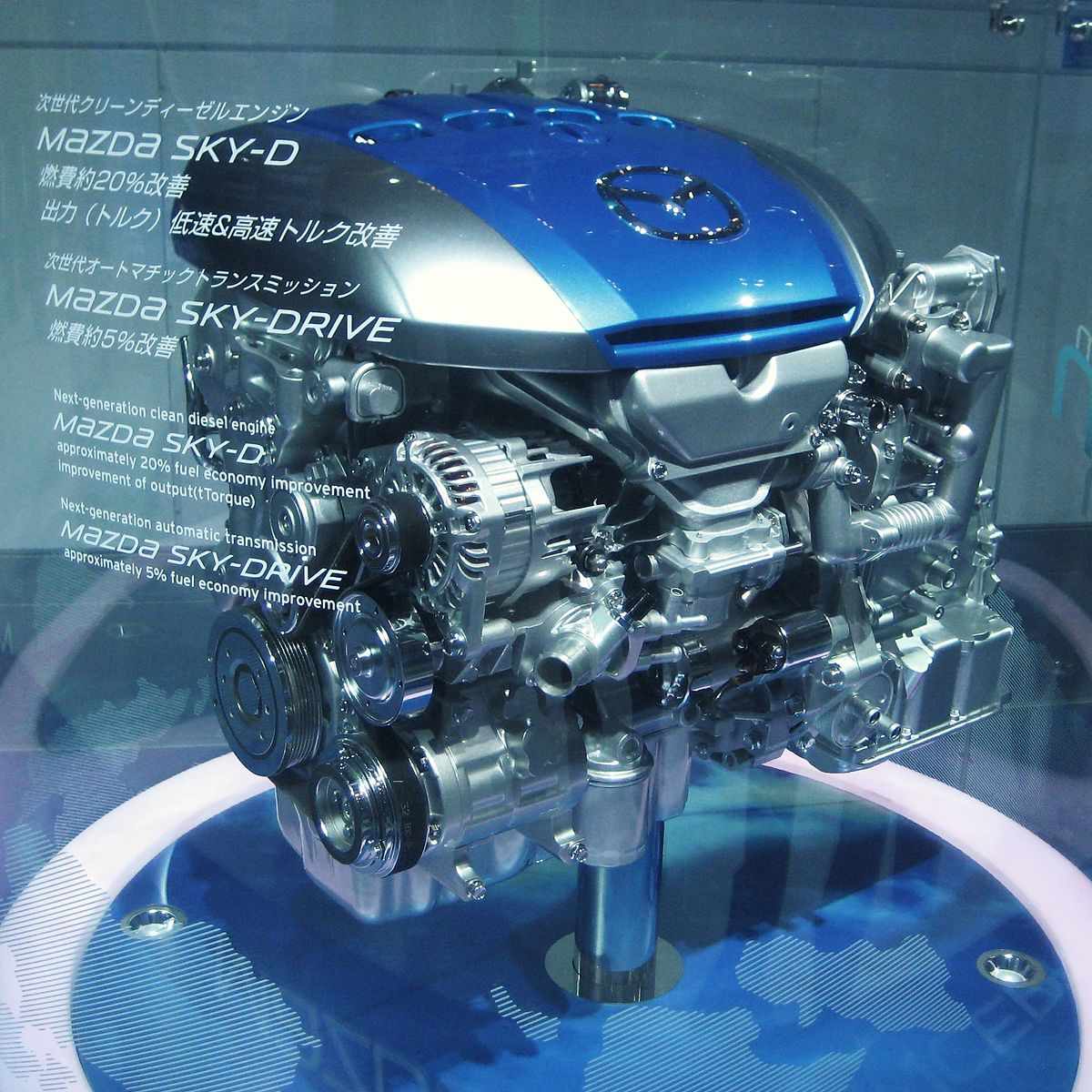 Mazda Diesel engine - Wikipedia