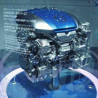 Mazda Diesel engine Motor vehicle engine