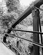 McGilvray Road Bridge No. 2, Van Loon Wildlife Area, La Crosse vicinity (La Crosse County, Wisconsin)