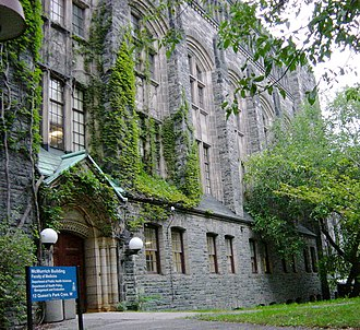 University of Toronto Faculty of Medicine - The McMurrich Building contains offices of medical faculty members and researchers.