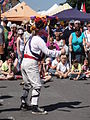 Mechanical Morris Dancers at Yarmouth Old Gaffers Festival 2011 4.JPG