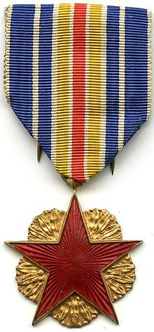 M daille nationale de reconnaissance aux victimes du for Decoration officielle francaise