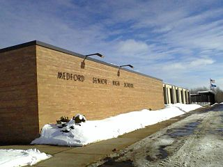 Medford Area Senior High School Public secondary school in Medford, WI