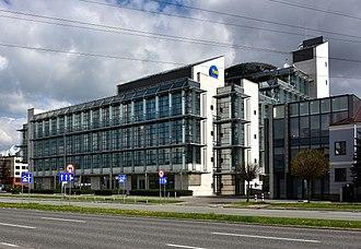 TVN (Polish TV channel) - TVN HQ in Warsaw, Poland