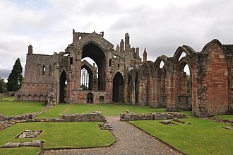 Melrose Abbey - Image: Melrose Abbey 01