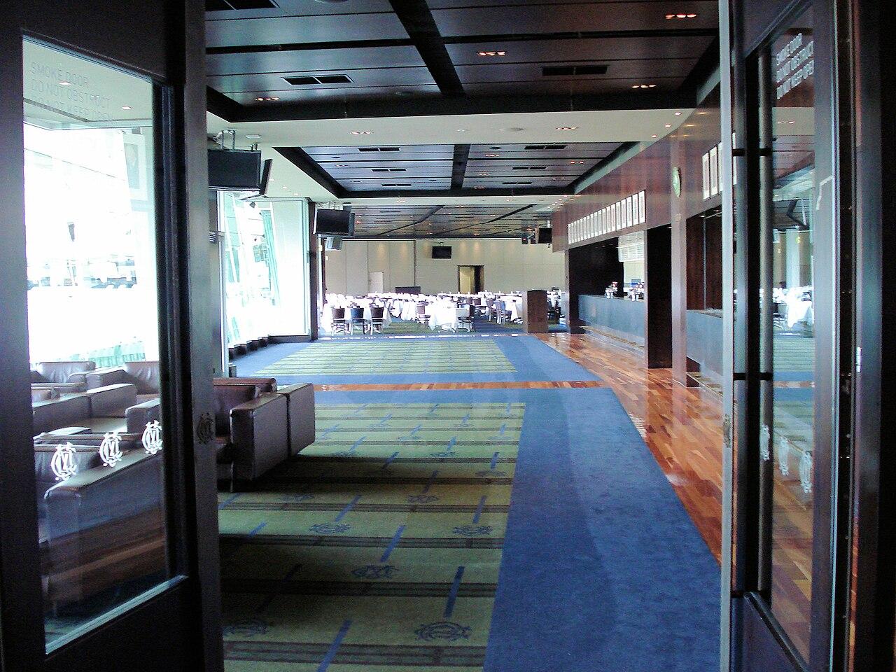 File:Members dining room MCG 1.JPG - Wikimedia Commons