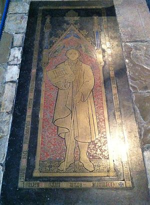 George Basevi - Grave of Basevi in Ely Cathedral