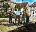Men working, tram line (3613670302).jpg