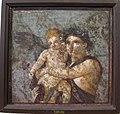 Menade e amorino, da casa di lucio cecilio giocondo a pompei, 110591.JPG