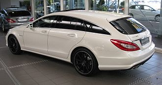 Shooting-brake - 2012 Mercedes Benz CLS Shooting Brake