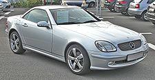 Mercedes SLK200K Facelift front.JPG