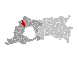 Merchtem - Image: Merchtem Locatie