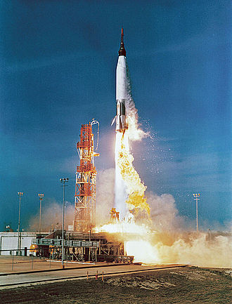 SM-65 Atlas - Launch of Mercury-Atlas 2 in February 1961
