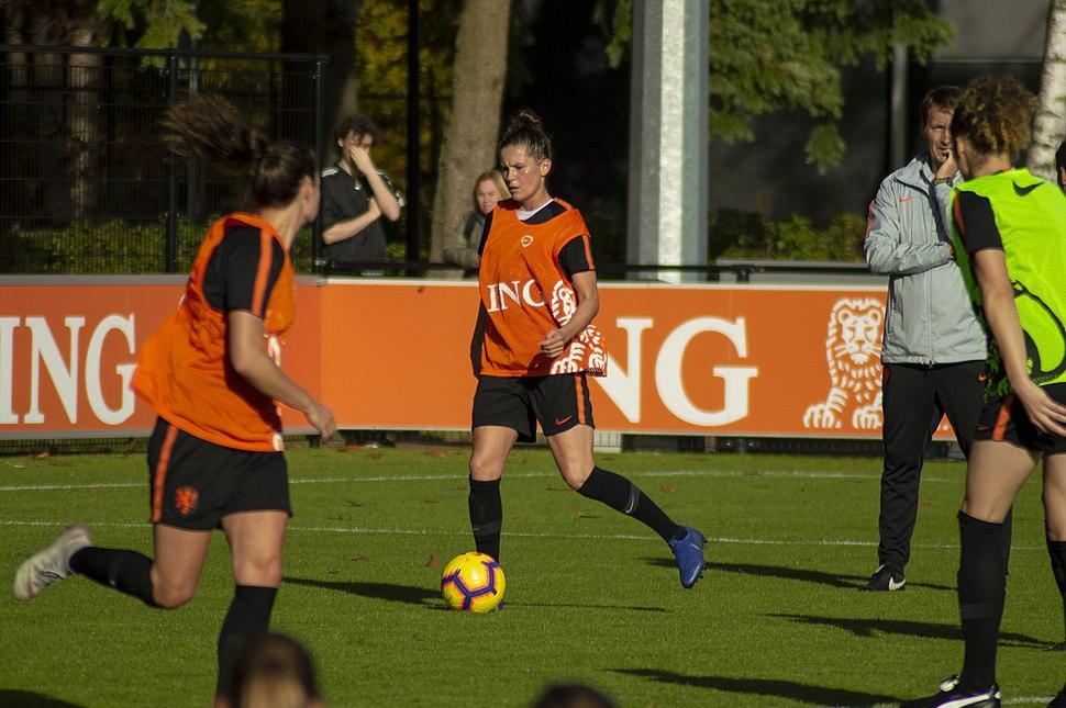 Merel van Dongen in November, 2018