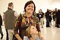 Merrilee at Wikimania 2015 Reception at Museo Soumaya.jpg