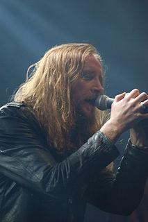 Nick Holmes (singer) British singer