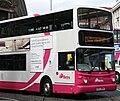 Metro (Belfast) bus 2904 (EEZ 2904) 2005 Volvo B7TL Alexander Dennis ALX400, 19 June 2009.jpg