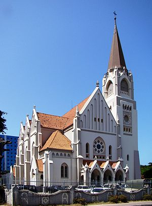Roman Catholic Archdiocese of Dar-es-Salaam - Image: Metropolitan Cathedral Dar es Salaam