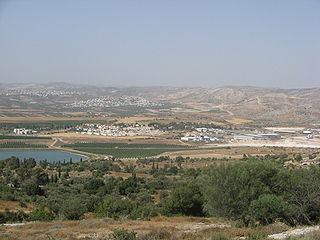 Mevo Horon Place in Judea and Samaria Area