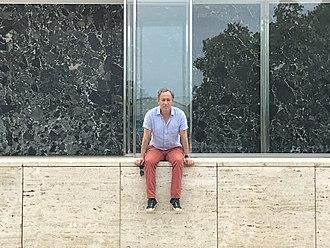 Michael Kimmelman - Michael Kimmelman at Barcelona Pavilion