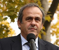 Michel Platini - the friendly, nice, cheerful,  football player  with French roots in 2018
