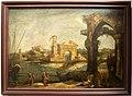 Michele marieschi, paesaggio fantastico con figure, 1730-40 ca. 01.jpg