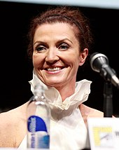 Michelle Fairley at the San Diego Comic-Con in 2013