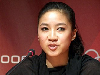 Michelle Kwan - Michelle Kwan announcing her withdrawal from the 2006 Winter Olympics in Turin, Italy, February 12, 2006