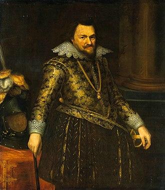 Philip William, Prince of Orange - Portrait of Philip William by Michiel Jansz van Mierevelt