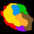 Microrégions climatiques de La Réunion ( Douville).png