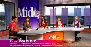 Midday (Irish TV series) - Image: Midday Panel