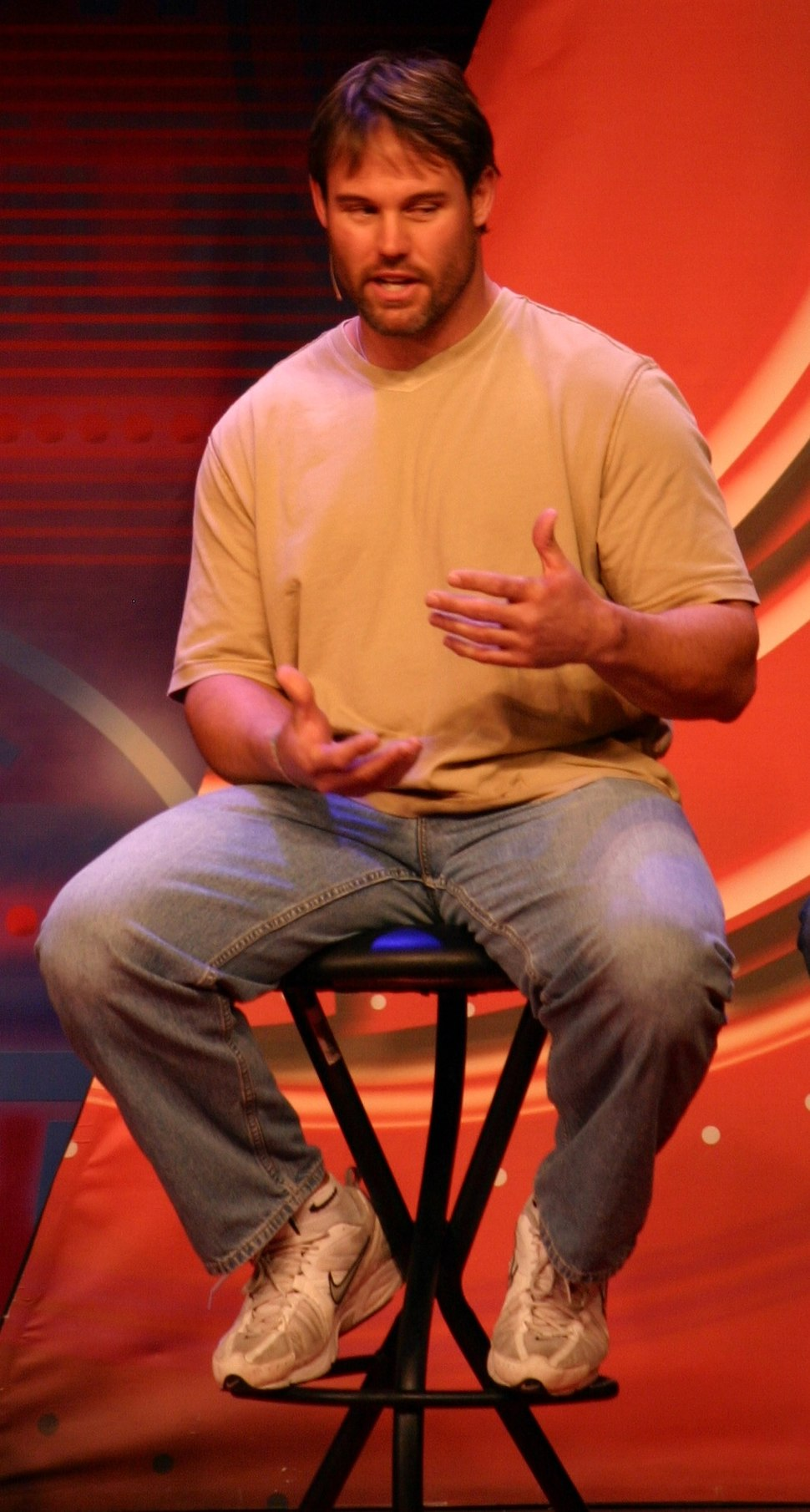 Mike Alstott ESPNWeekend2010-082
