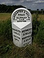 Milestone at Moor End Boston Spa - geograph.org.uk - 323950.jpg